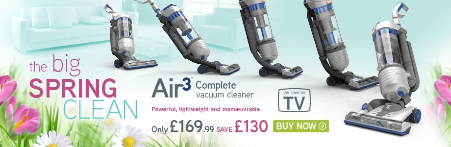 VAX Air3 Complete Upright Vacuum Cleaner