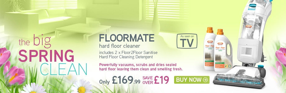 VAX Floormate 3 in 1 Hard Floor Cleaner Bundle
