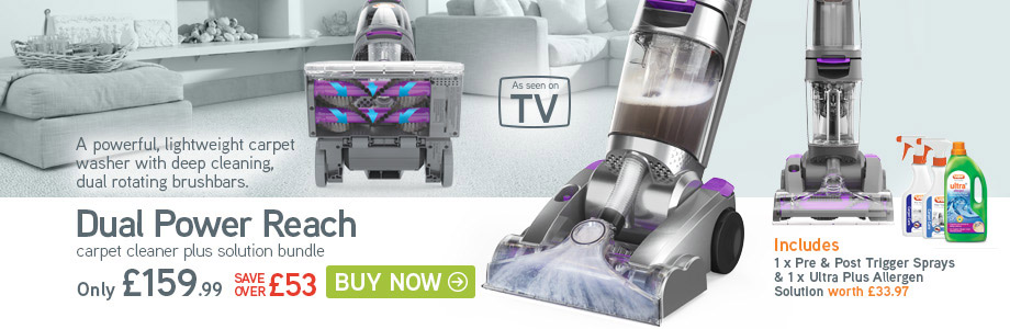 VAX Dual Power Reach Carpet Cleaner
